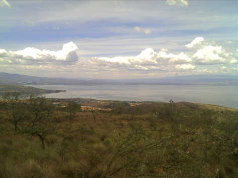 Lake Naivasha from Hell's Gate