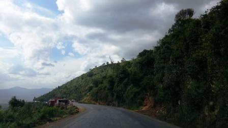 Drive on the Mau escarpment
