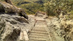 Improved trail. If they could do it all the way, maybe we could just have our stairway to heaven, who knows :D