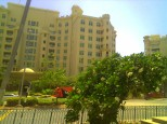 Apartments along the Jumeira palm beach
