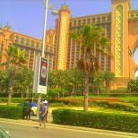 The magnificent Atlantis Hotel