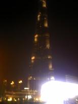 The Burj at night