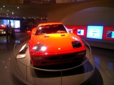 I loved the Ferrari car