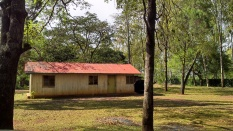Raila's old crib at his father's home