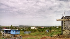 Views to the lake from my site in Kisumu