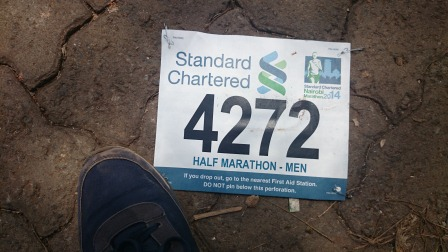 race number for yours truly