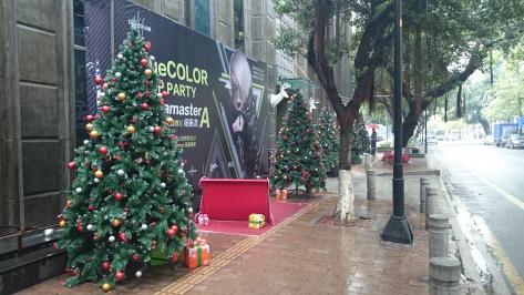 Christmas cheer in China
