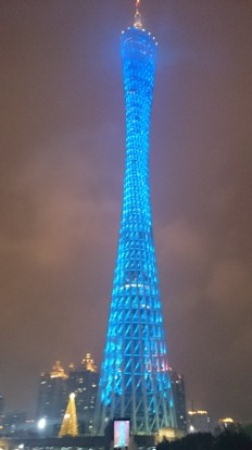 Different view of Canton Tower
