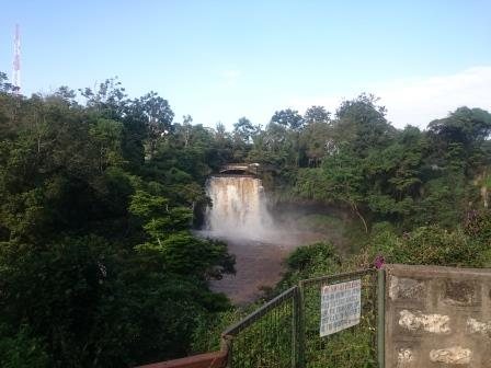 i don't know what this falls are called. I know I could spend a whole day doing nothing here