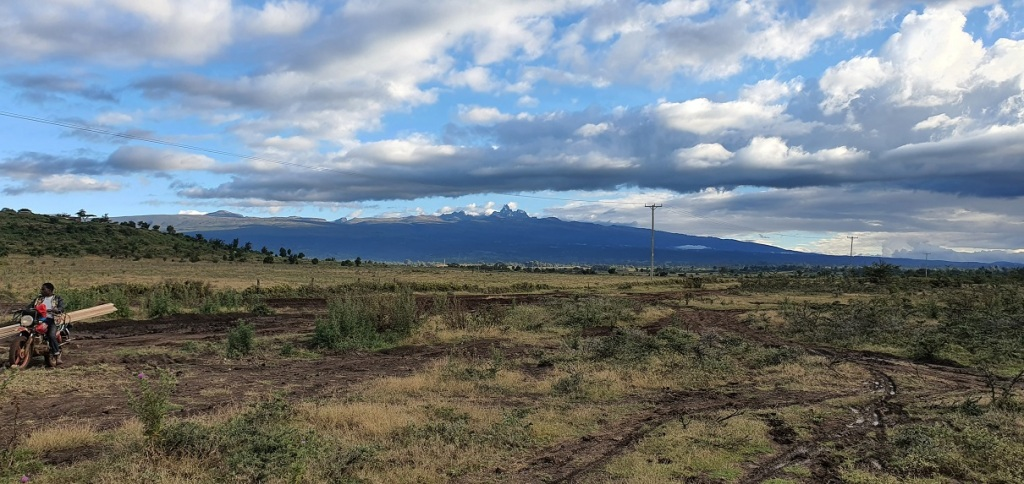 Somewhere in the background is Mt. Kenya